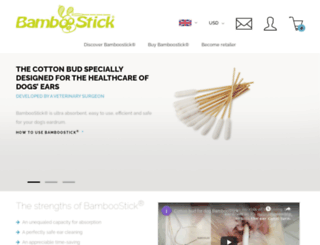 bamboostick.net screenshot