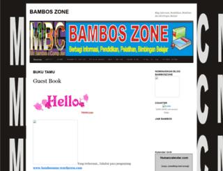 bamboszone.wordpress.com screenshot