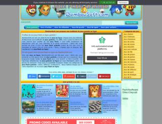 bambousoft.com screenshot