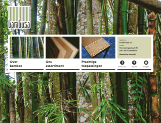 bambusa.nl screenshot