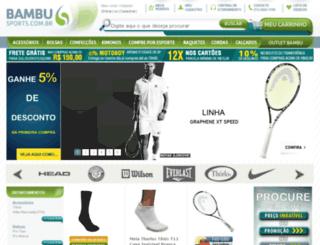 bambusports.com.br screenshot