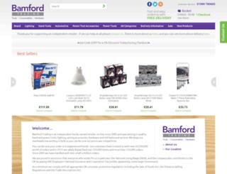 bamfordtrading.co.uk screenshot