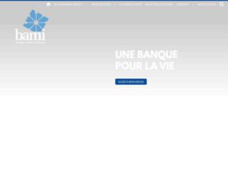 bami.fr screenshot