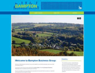 bamptonbusinessgroup.co.uk screenshot