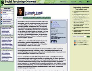 banaji.socialpsychology.org screenshot