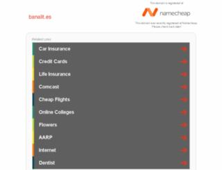 banalit.es screenshot
