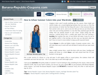 banana-republic-coupons.com screenshot