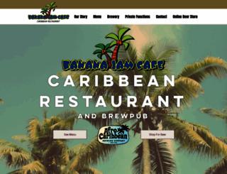 bananajamcafe.co.za screenshot
