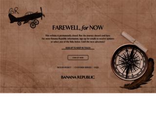 bananarepublic.gap.eu screenshot