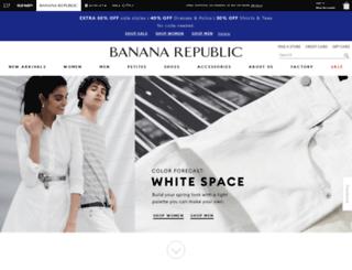 bananarepublic.skavaone.com screenshot