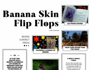 bananaskinflipflops.wordpress.com screenshot