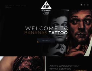 bananastattoo.co.uk screenshot