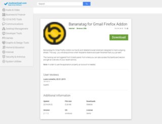 bananatag-for-gmail-firefox-addon.joydownload.com screenshot
