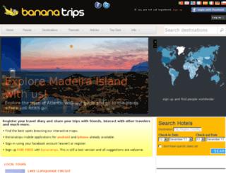bananatrips.pt screenshot