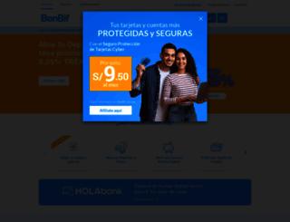 banbif.com.pe screenshot