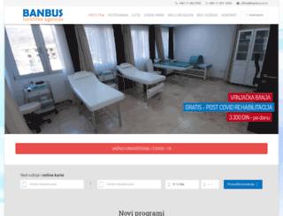banbus.co.rs screenshot