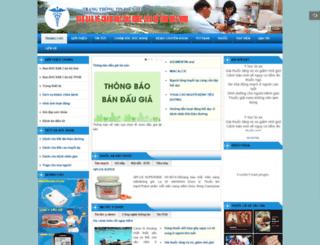 banbvsk.hoabinh.gov.vn screenshot