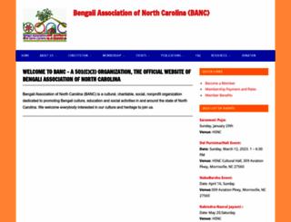 banc-online.org screenshot