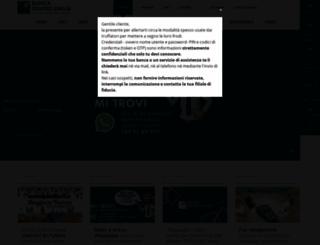 bancacentroemilia.it screenshot