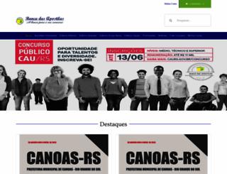 bancadasapostilas.com.br screenshot
