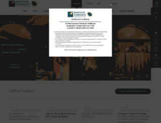 bancadicherasco.it screenshot