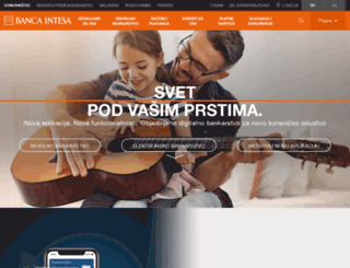bancaintesabeograd.com screenshot