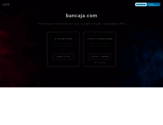 bancaja.com screenshot