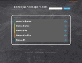 bancajuancitosport.com screenshot