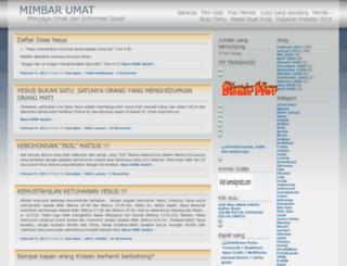 bancakan.wordpress.com screenshot