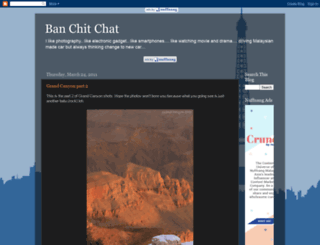 banchitchat.blogspot.fr screenshot