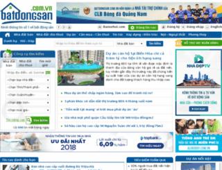 banchungcucanhotayho.batdongsan.com.vn screenshot