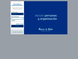 bancochile.eclass.cl screenshot