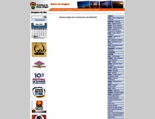bancodeimagens.procempa.com.br screenshot