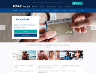 bancofrances.com.ar screenshot