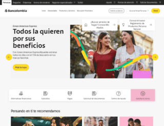 bancolombia.com.co screenshot