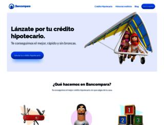 bancompara.mx screenshot