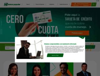 bancopopular.com.co screenshot