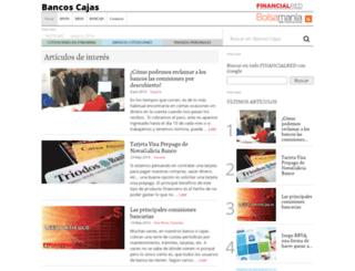bancoscajas.es screenshot