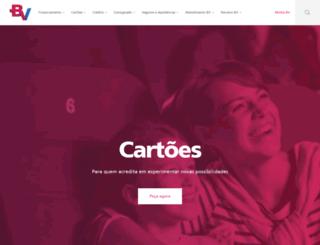 bancovotorantimcartoes.com.br screenshot
