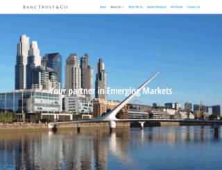 banctrust.com screenshot