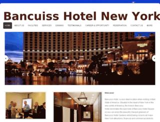 bancuisshotel.webs.com screenshot