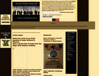 band-of-brothers.nl screenshot