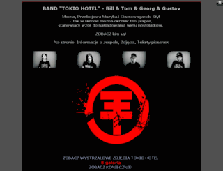 band-tokio-hotel.friko.pl screenshot
