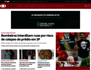 band.uol.com.br screenshot
