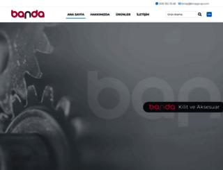 banda.com.tr screenshot