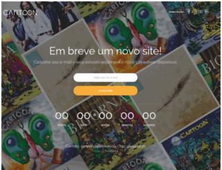 bandacartoon.com.br screenshot