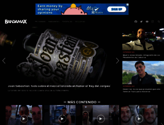 bandamax.tv screenshot
