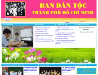 bandantoc.hochiminhcity.gov.vn screenshot