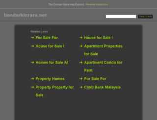 bandarkinrara.net screenshot