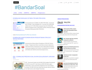 bandarsoal.blogspot.co.id screenshot